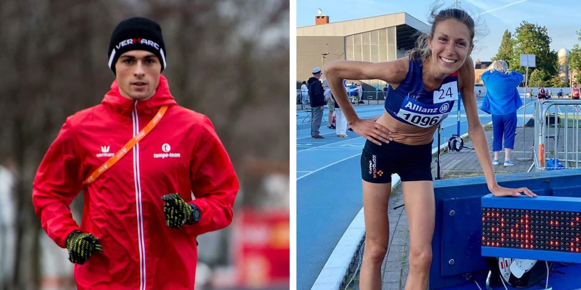 Florence De Cock et Lucas Da Silva : doublé liégeois pour l'or