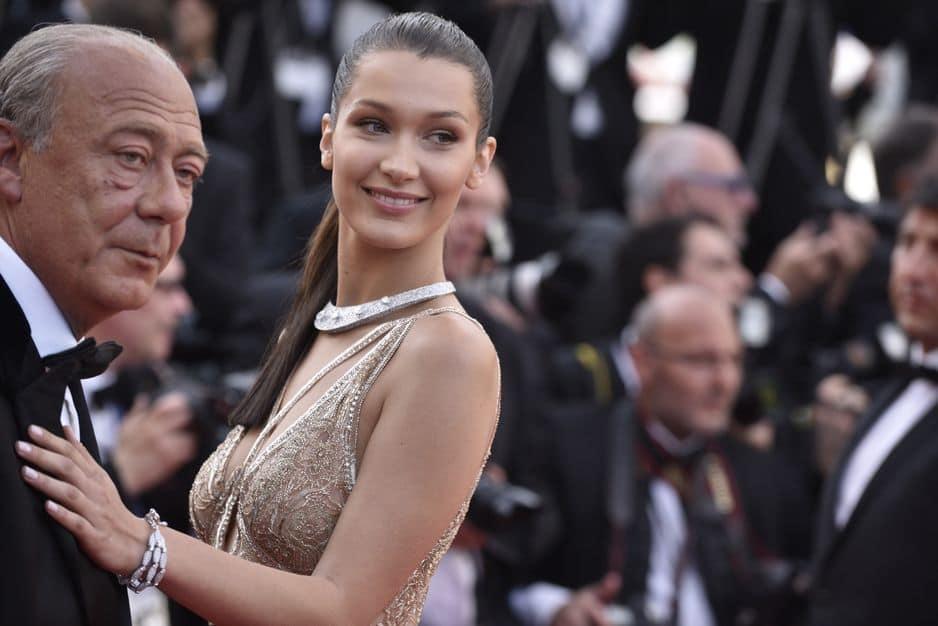 2016. Avec Fawaz Gruosi avec qui elle s'affoiche à chaque Cannes.