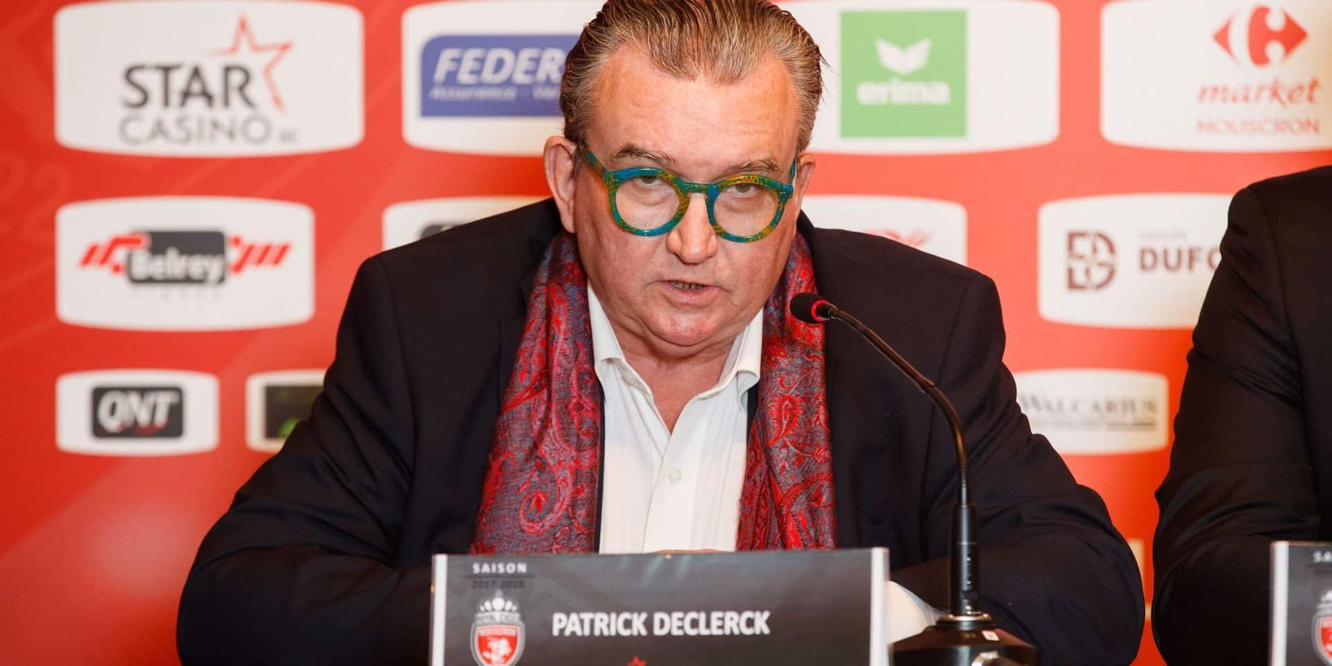 Officiel: l'Excel Mouscron est racheté par Gérard Lopez, président de Lille