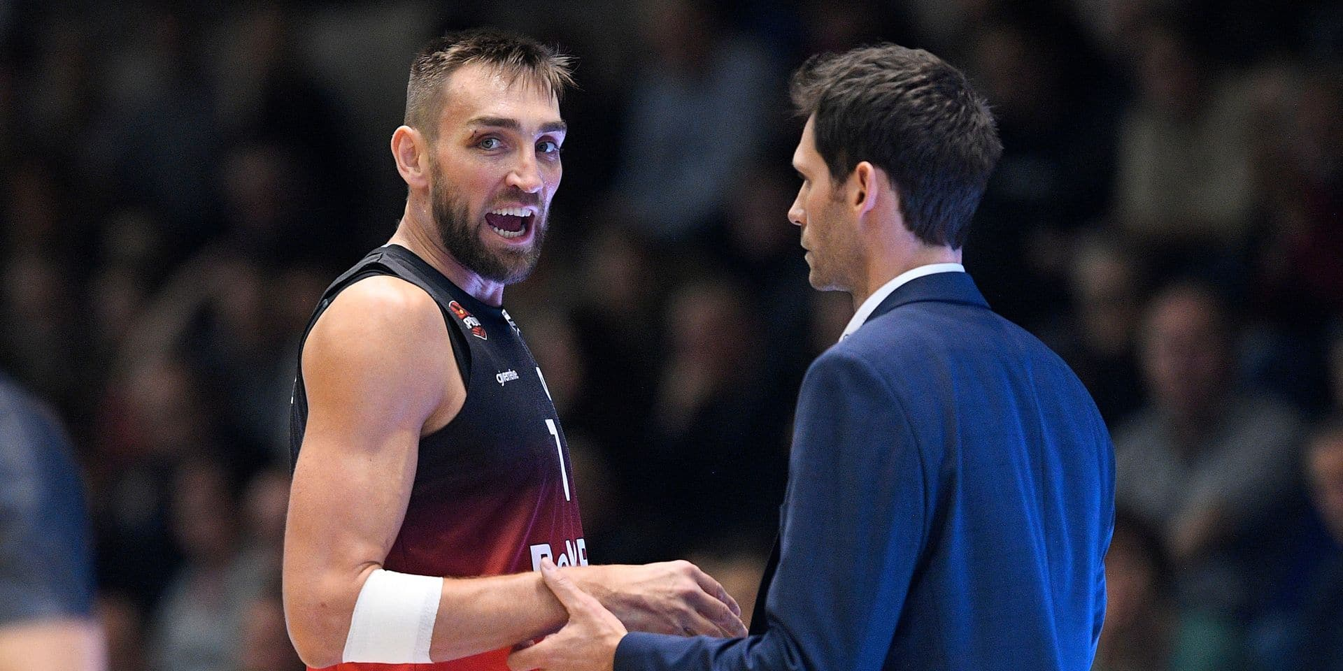 """Sam Rotsaert avant Anvers-Charleroi en basket : """"Sur un match, tout est possible !"""""""