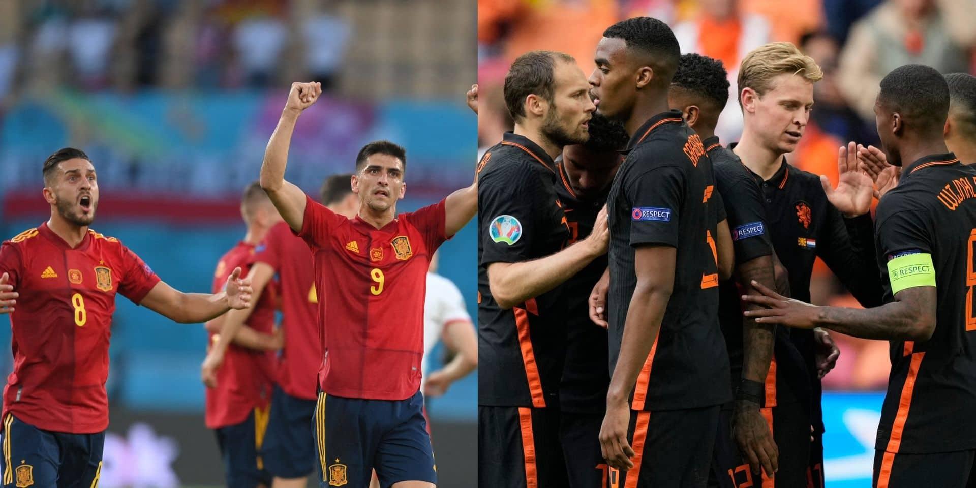 """Après la rivalité entre la Belgique et la France, voici celle de l'Espagne et des Pays-Bas: """"Il veut son moment de gloire"""""""