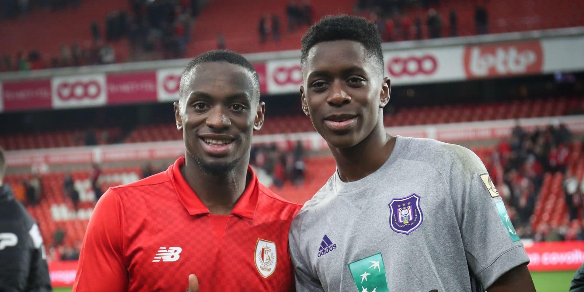 """Paul-José Mpoku entre lien fraternel et amour du blason: """"Albert peut marquer… tant que le Standard l'emporte"""""""