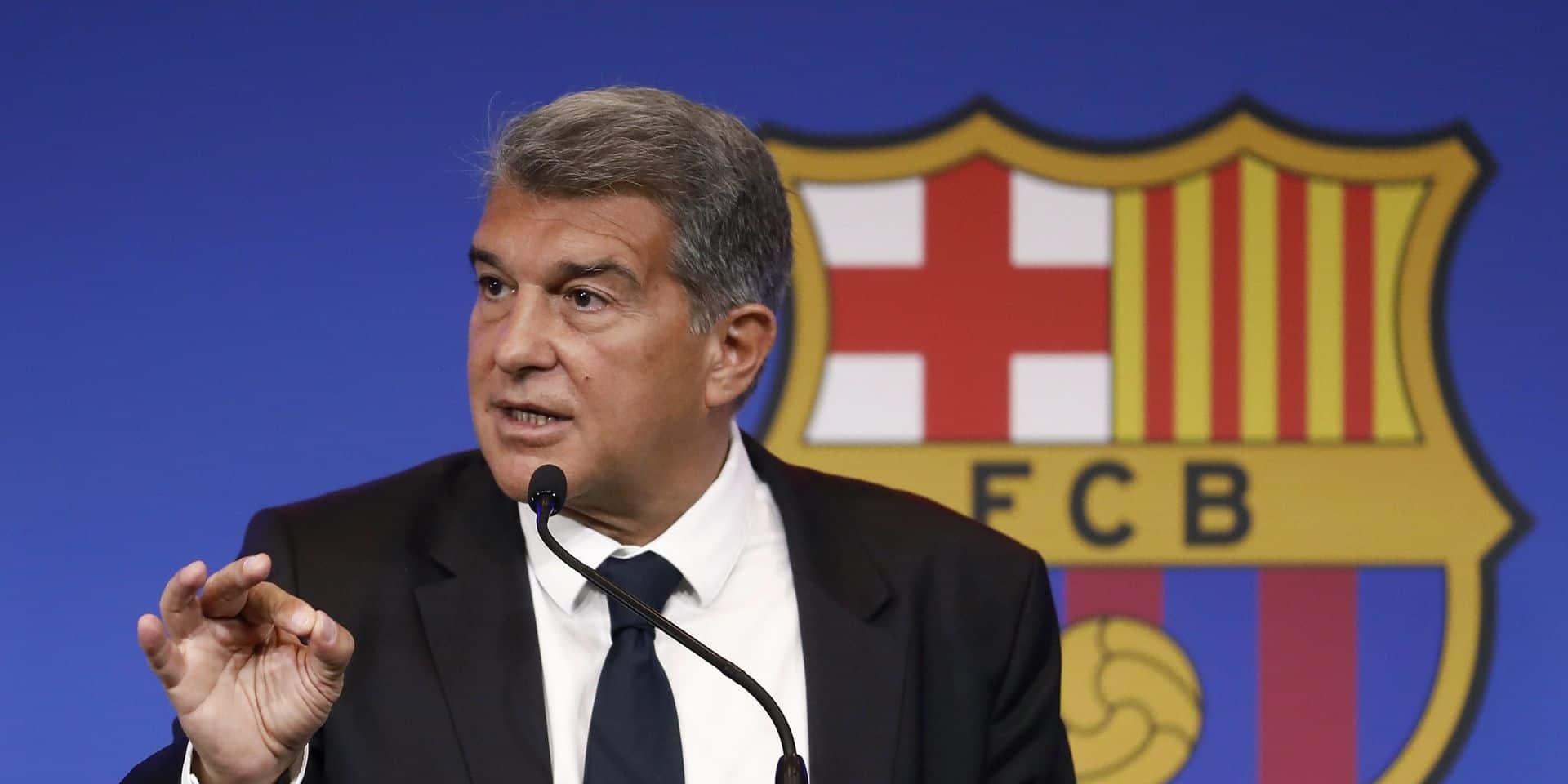 Le président du Barça met la pression sur ses joueurs: ils ont jusqu'au 15 août pour baisser leur salaire