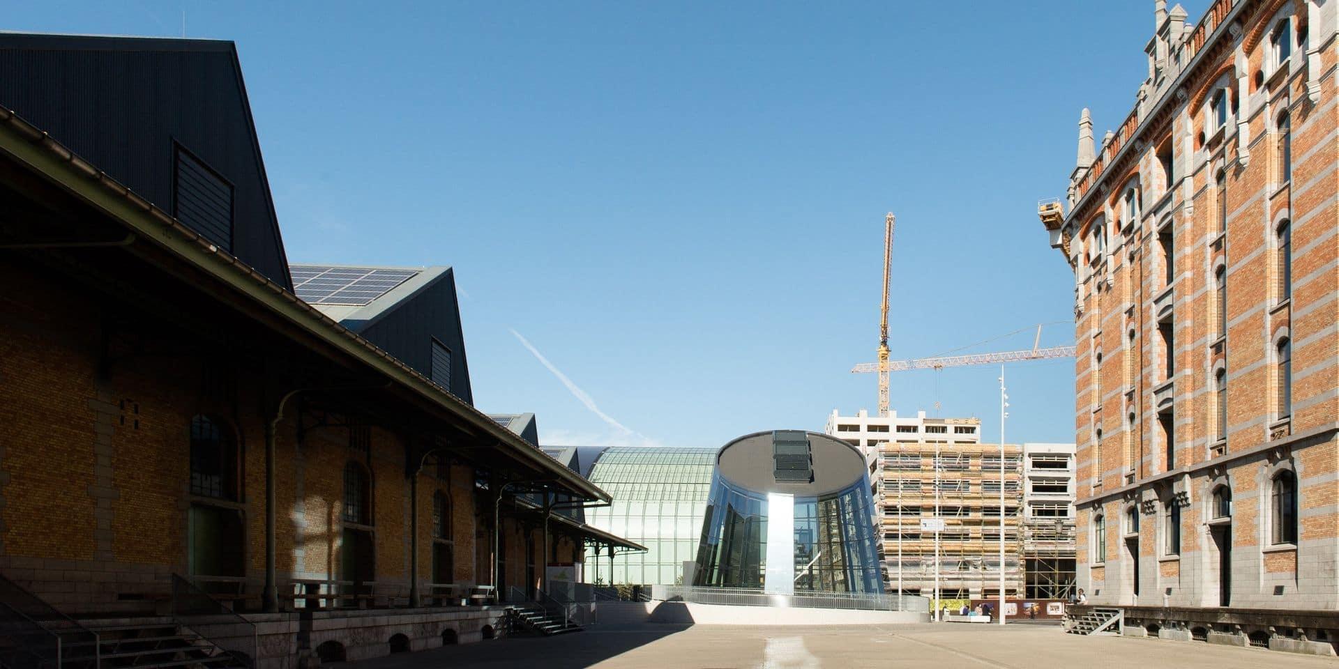 L'AB organisera ses 2 festivals de l'été fin août dans la gare maritime sur le site de Tour & Taxis de Bruxelles
