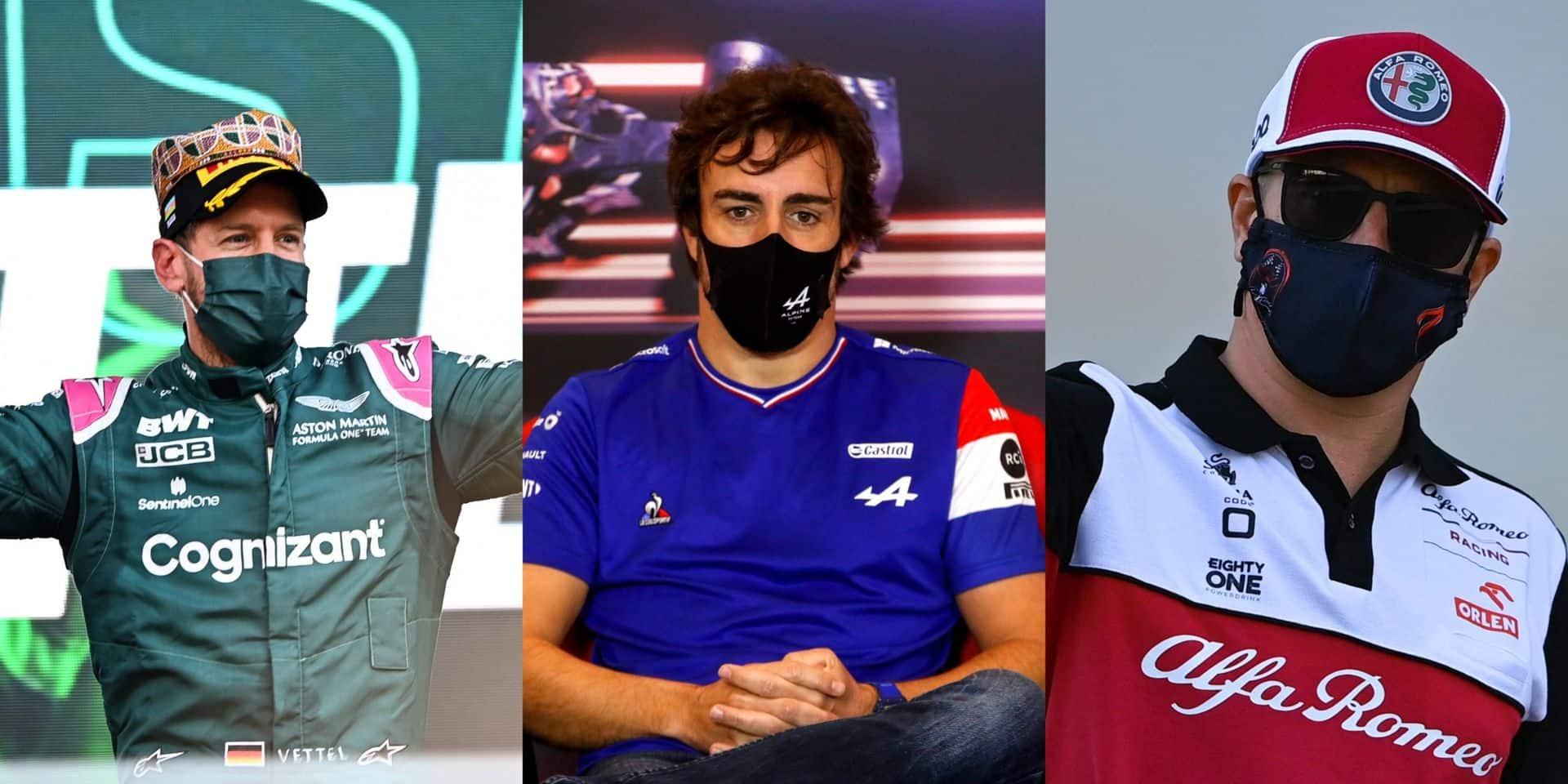 Le sujet que vous avez choisi: Vettel, Alonso, Räikkönen, les papys font de la résistance à Bakou