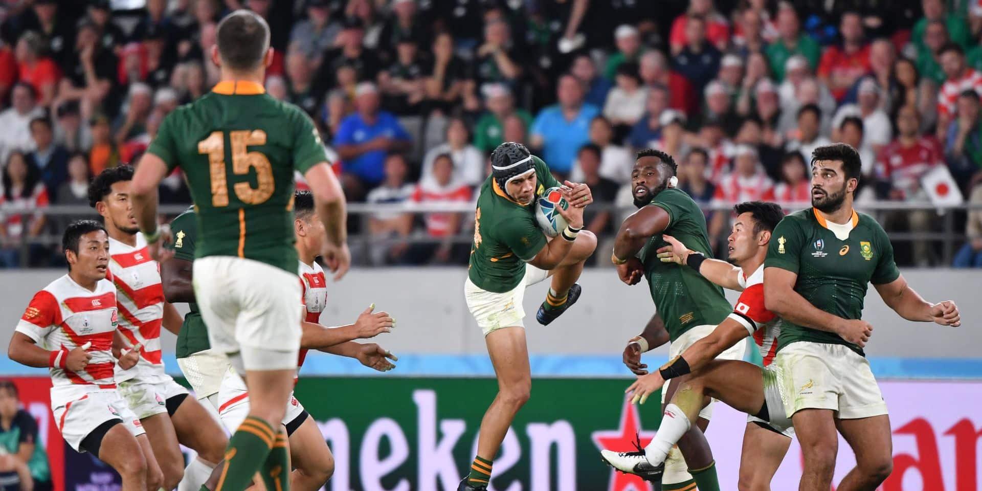 Coupe du Monde de rugby: L'Afrique du Sud met un terme à la belle épopée japonaise