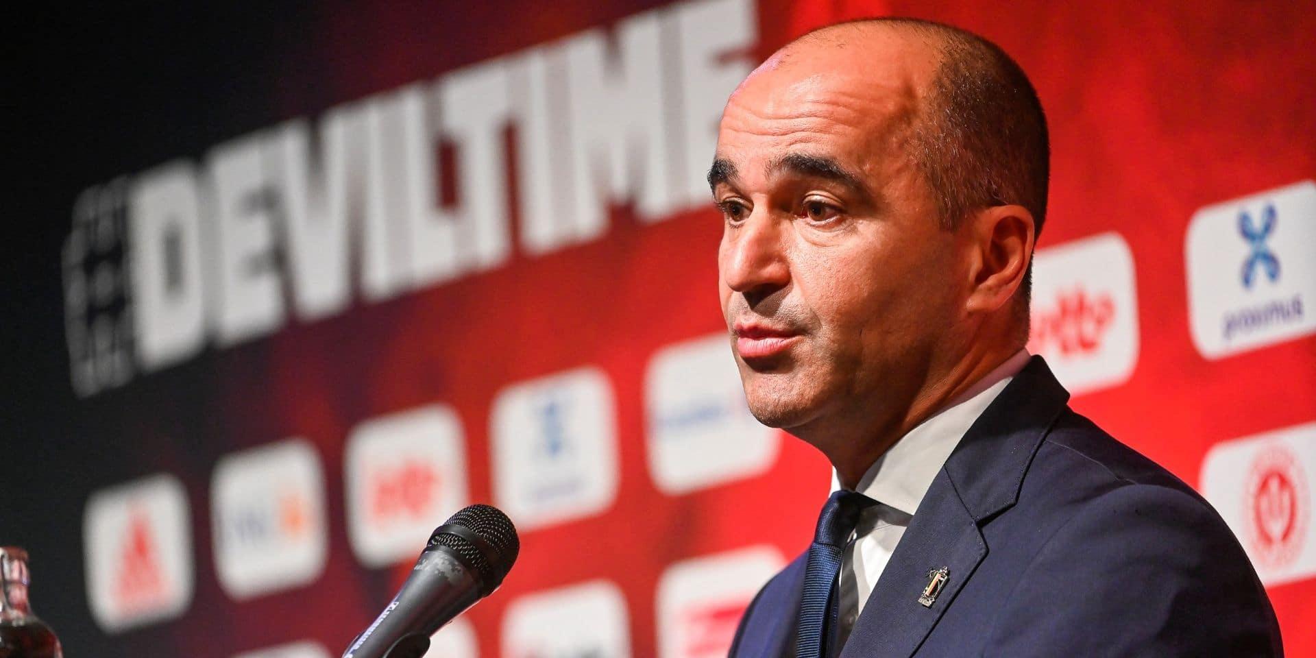 """Roberto Martinez sur le projet de la FIFA: """"Un Mondial tous les deux ans dévaluerait la compétition"""""""