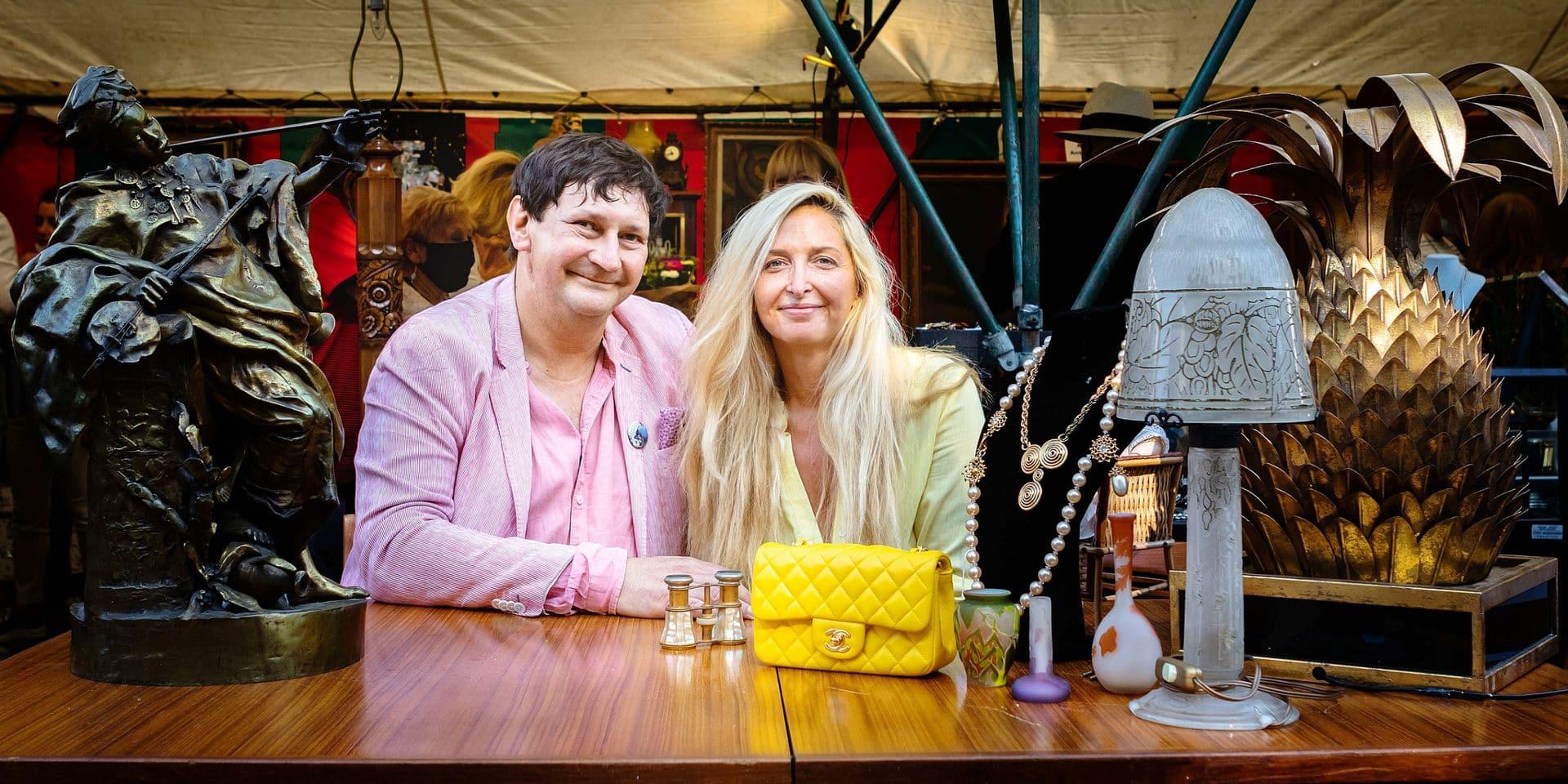 """Deux acheteurs d'""""Affaire conclue"""" à Bruxelles: """"La Belgique est une plaque tournante des antiquités"""""""