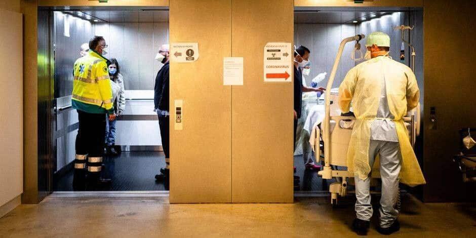 Godinne : un transfert de patient en région liégeoise