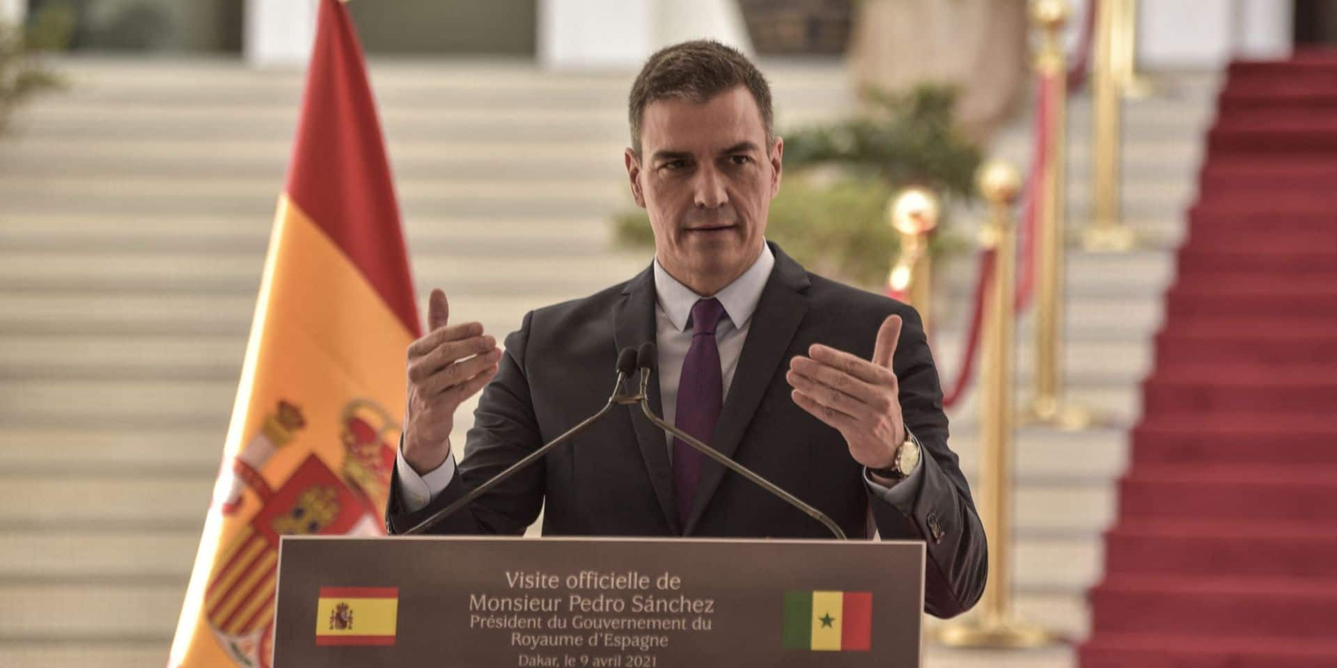 L'Espagne continue avec AstraZeneca et est prête à employer Spoutnik s'il est homologué