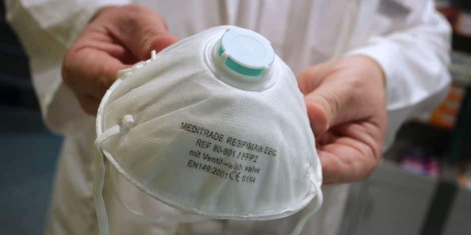 Ath: 3200 masques ffp2 livrés dans les homes
