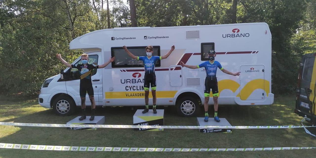 Cyclo-cross: Néo Lamot, un podium pour sa reprise !