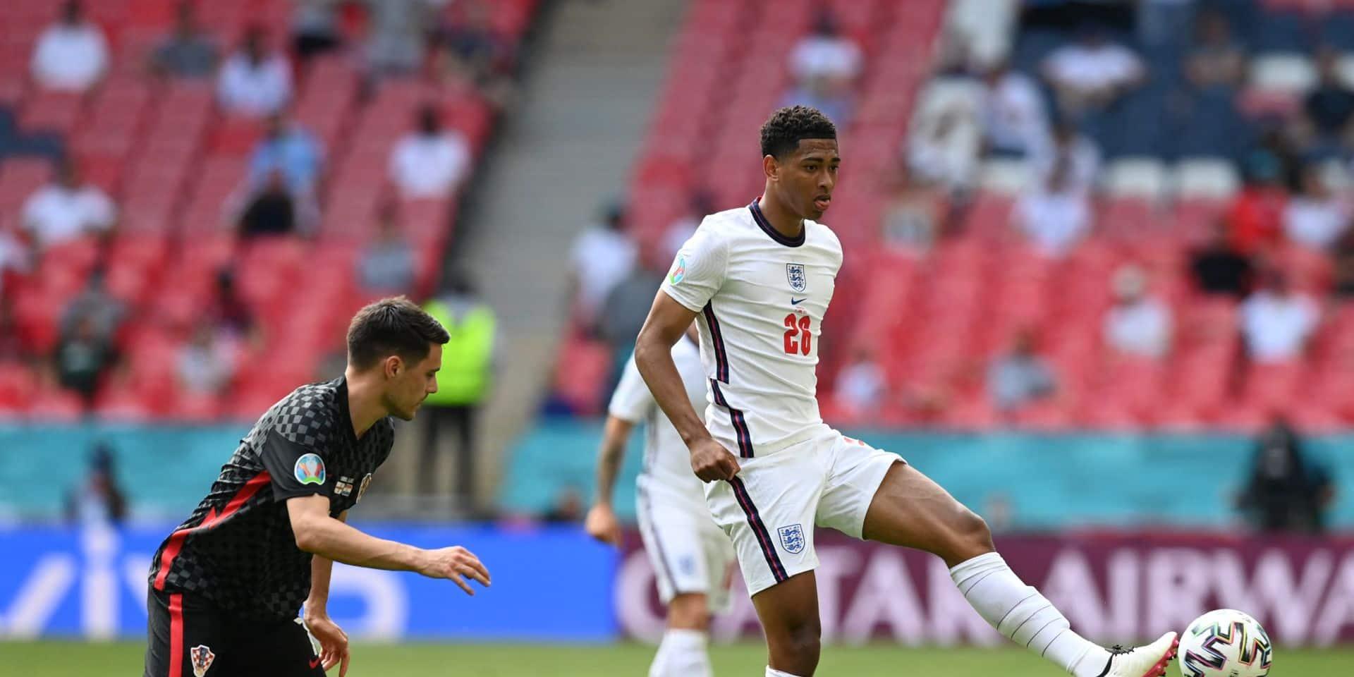 Jude Bellingham devient le plus jeune joueur de l'histoire de l'Euro à jouer un match