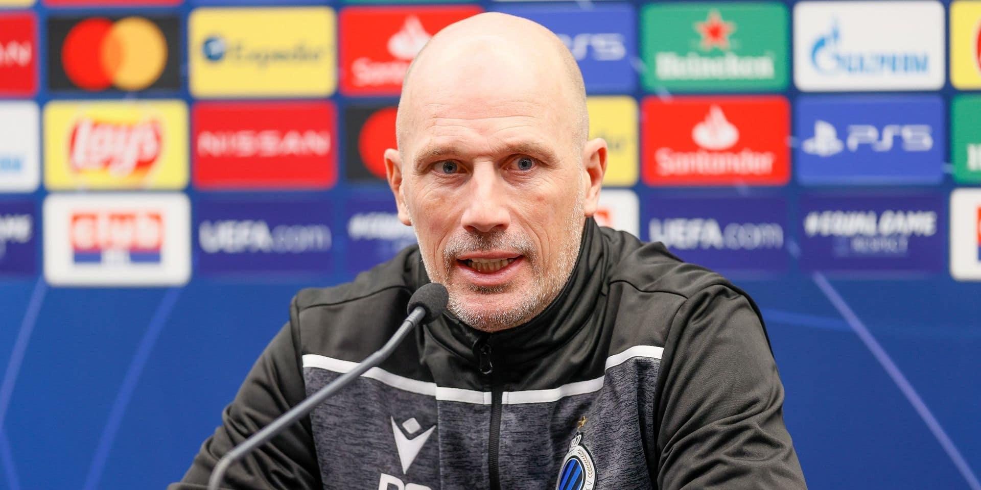 """Philippe Clément avant la rencontre face à la Lazio: """"Avec le coronavirus, il faut au moins avoir un plan B"""""""