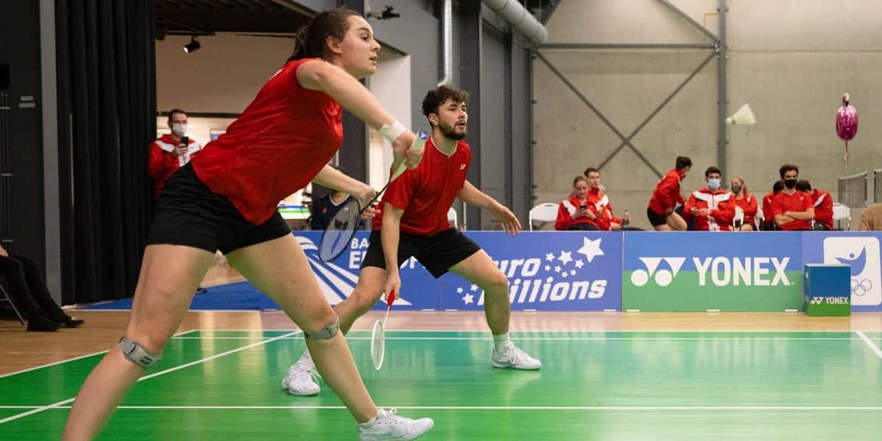 Badminton : la Belgique termine ses qualifs en beauté