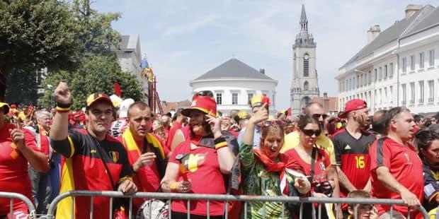 A Tournai, supporters belges et français pourront suivre la demi-finale dans un cadre sécurisé - La DH