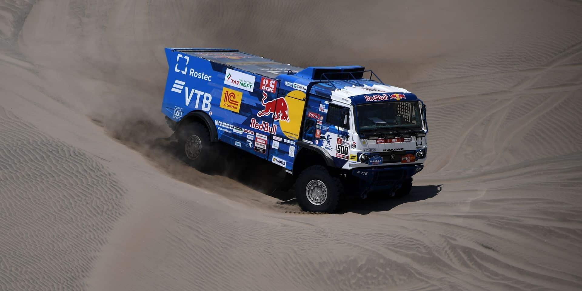 Dakar 2019: Eduard Nikolaev vainqueur et leader en camions