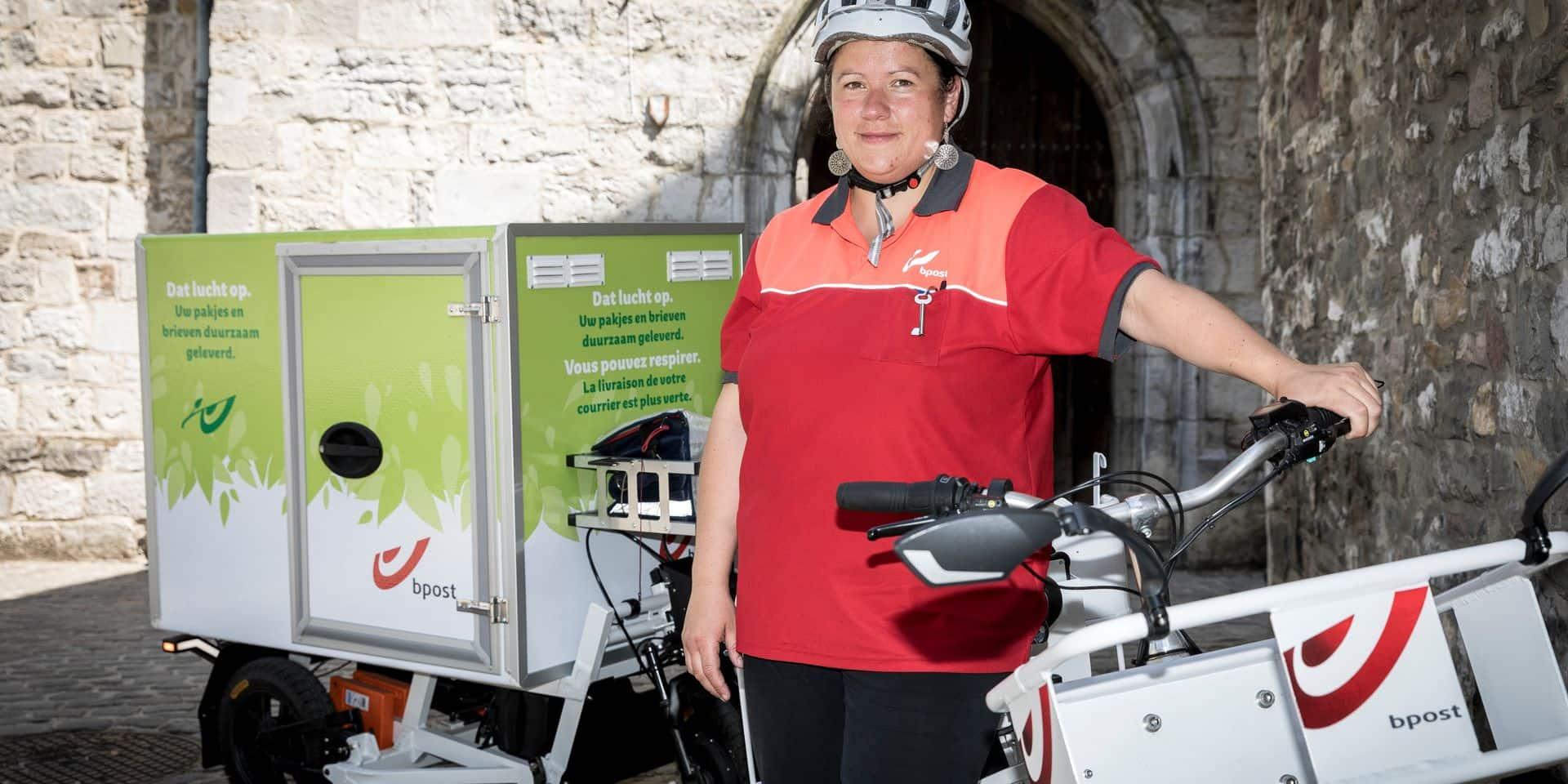 Une première : le courrier livré en vélo électrique