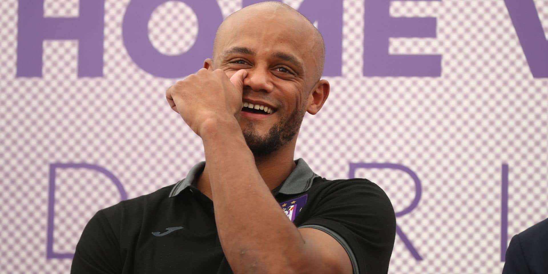 Anderlecht's new player/ manager Vincent Kompany pictured during a press conference of Jupiler Pro League team RSC Anderlecht to present it's new player/ manager, Tuesday 25 June 2019 in Brussels. BELGA PHOTO VIRGINIE LEFOUR