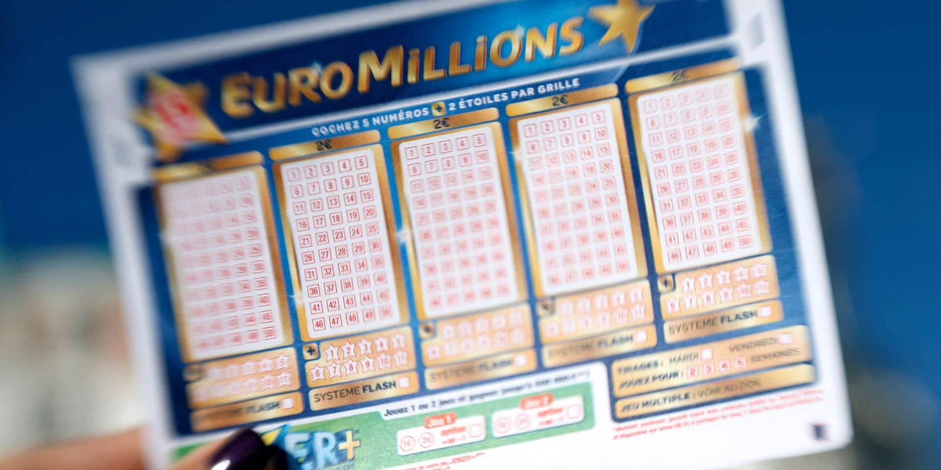 C'est du jamais vu: un jackpot record de l'Euromillions ce mardi!