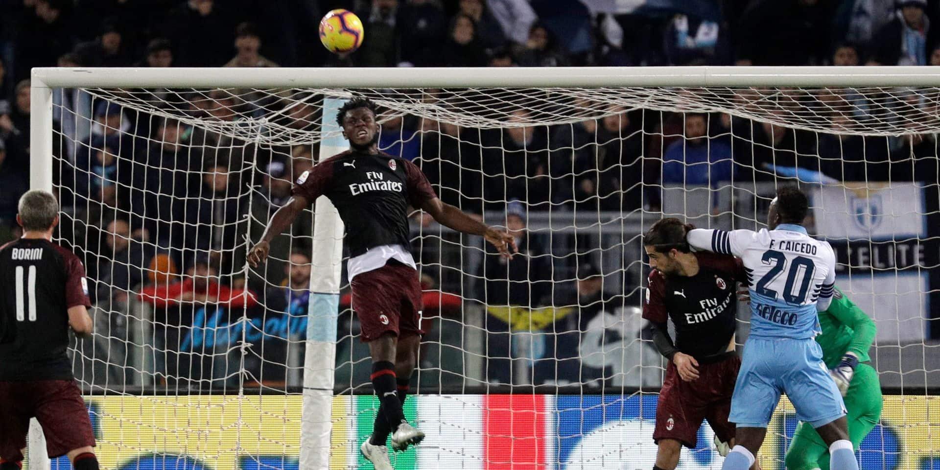 Serie A: opération nulle pour la Lazio et le Milan