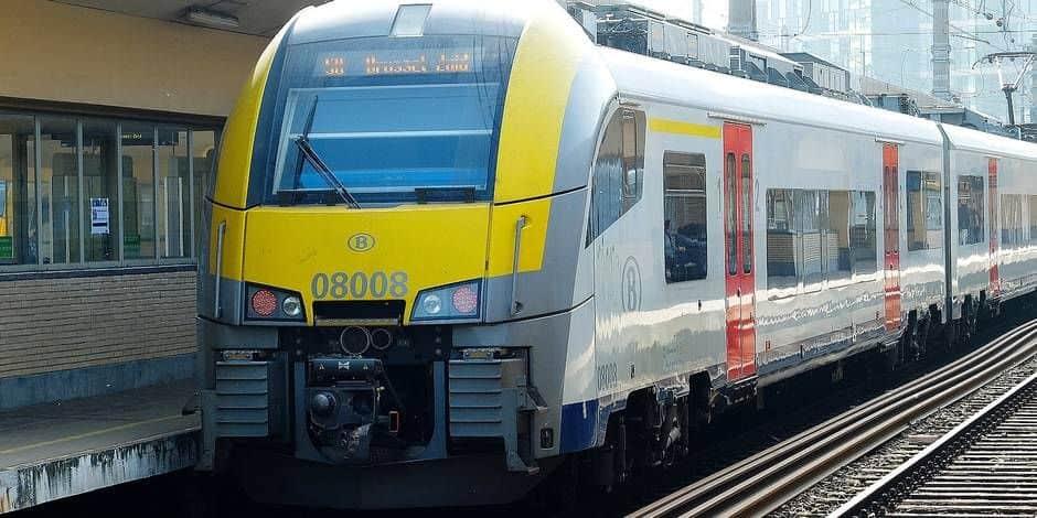 La circulation des trains interrompue à Bruxelles-Nord à cause de vandalisme
