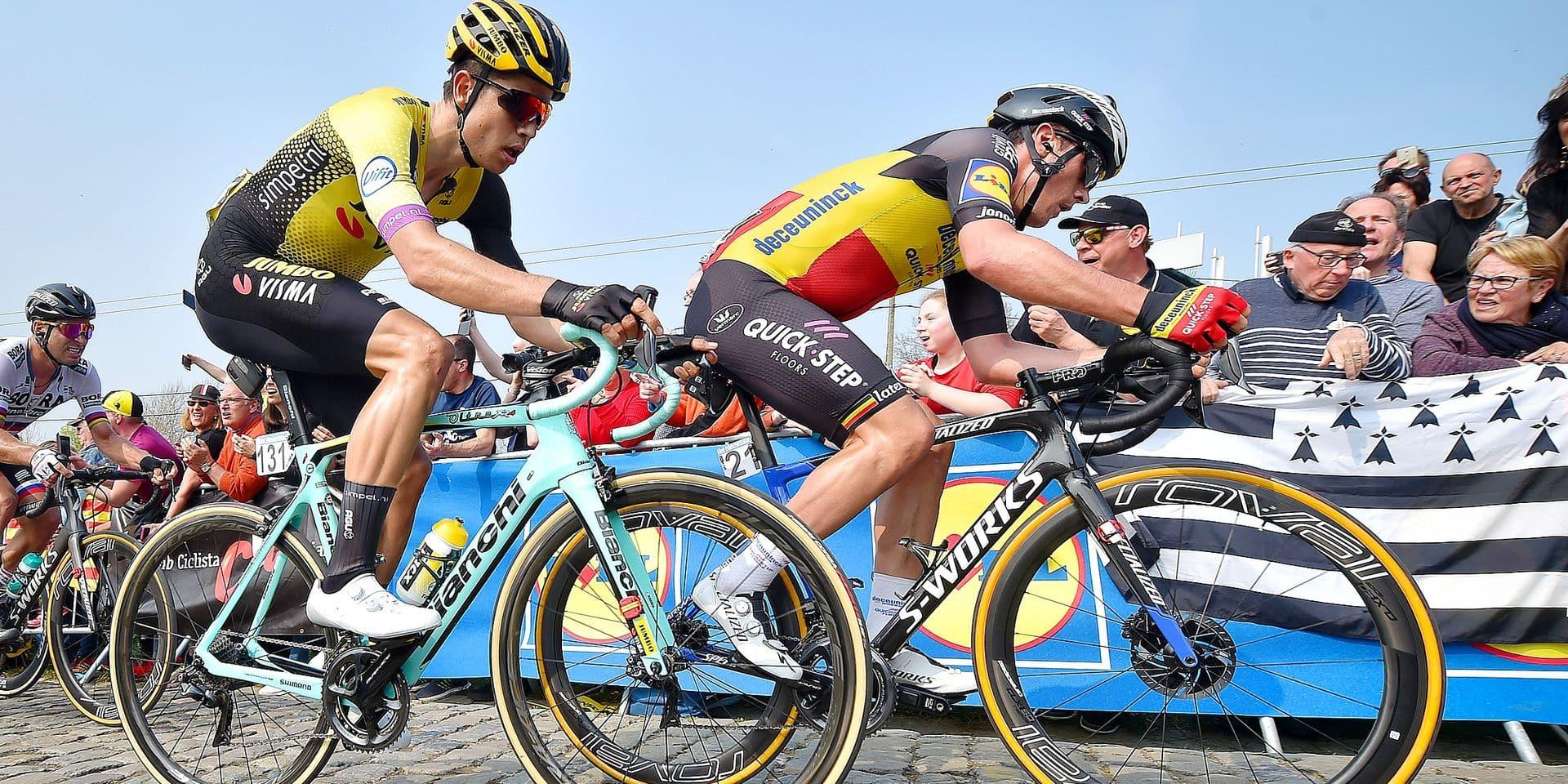 """Annoncé comme candidat à la victoire à Roubaix, Van Aert tempère: """"Personne ne domine actuellement"""""""