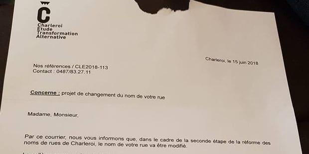 2.000 Carolos ont reçu un faux courrier officiel - La DH
