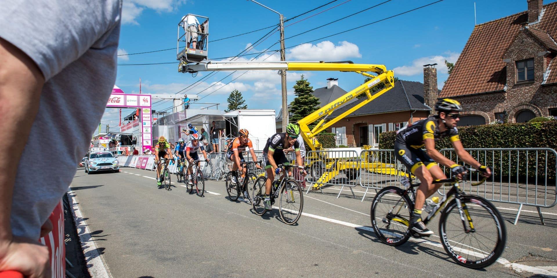 La 2e étape du Tour de Wallonie, qui reliait Verviers à Herve ce mercredi, annulée