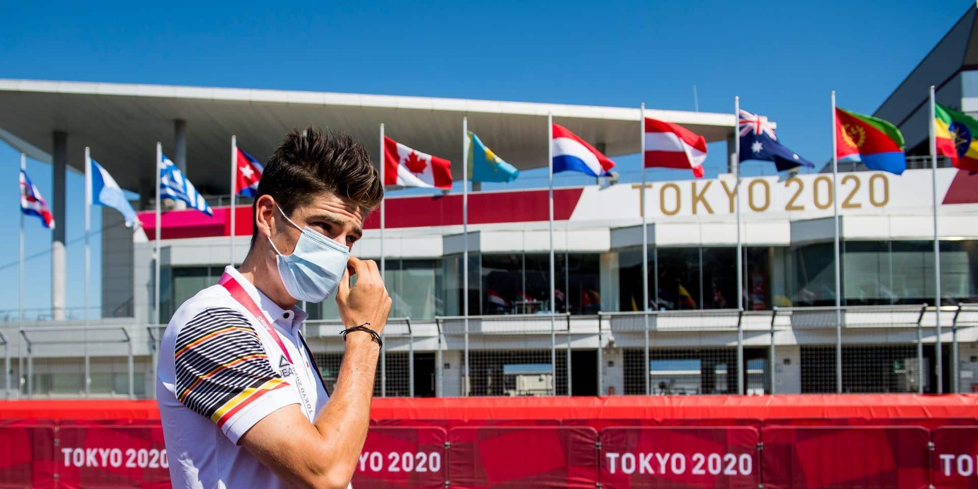 """Les JO, un rêve pour Wout Van Aert: """"Je place les Jeux au même niveau que le Tour des Flandres"""""""