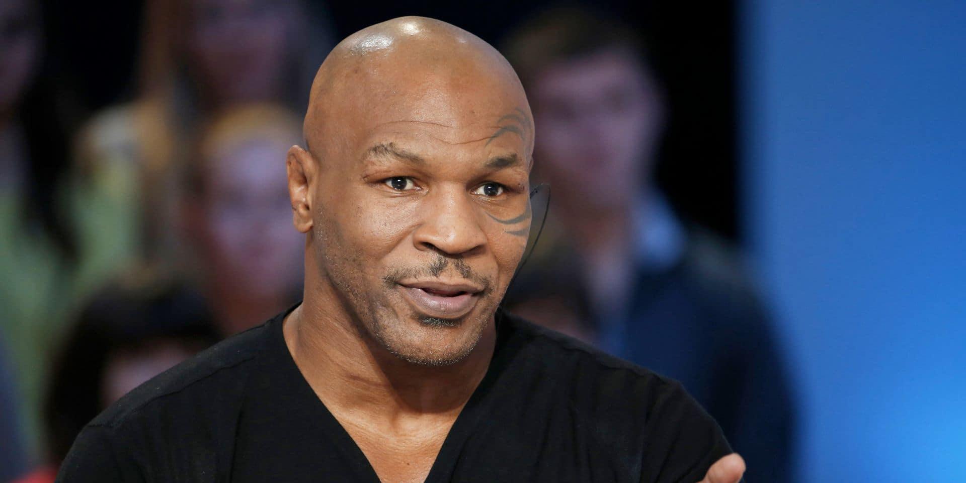 La légende de la boxe Mike Tyson envisage un retour pour la bonne cause