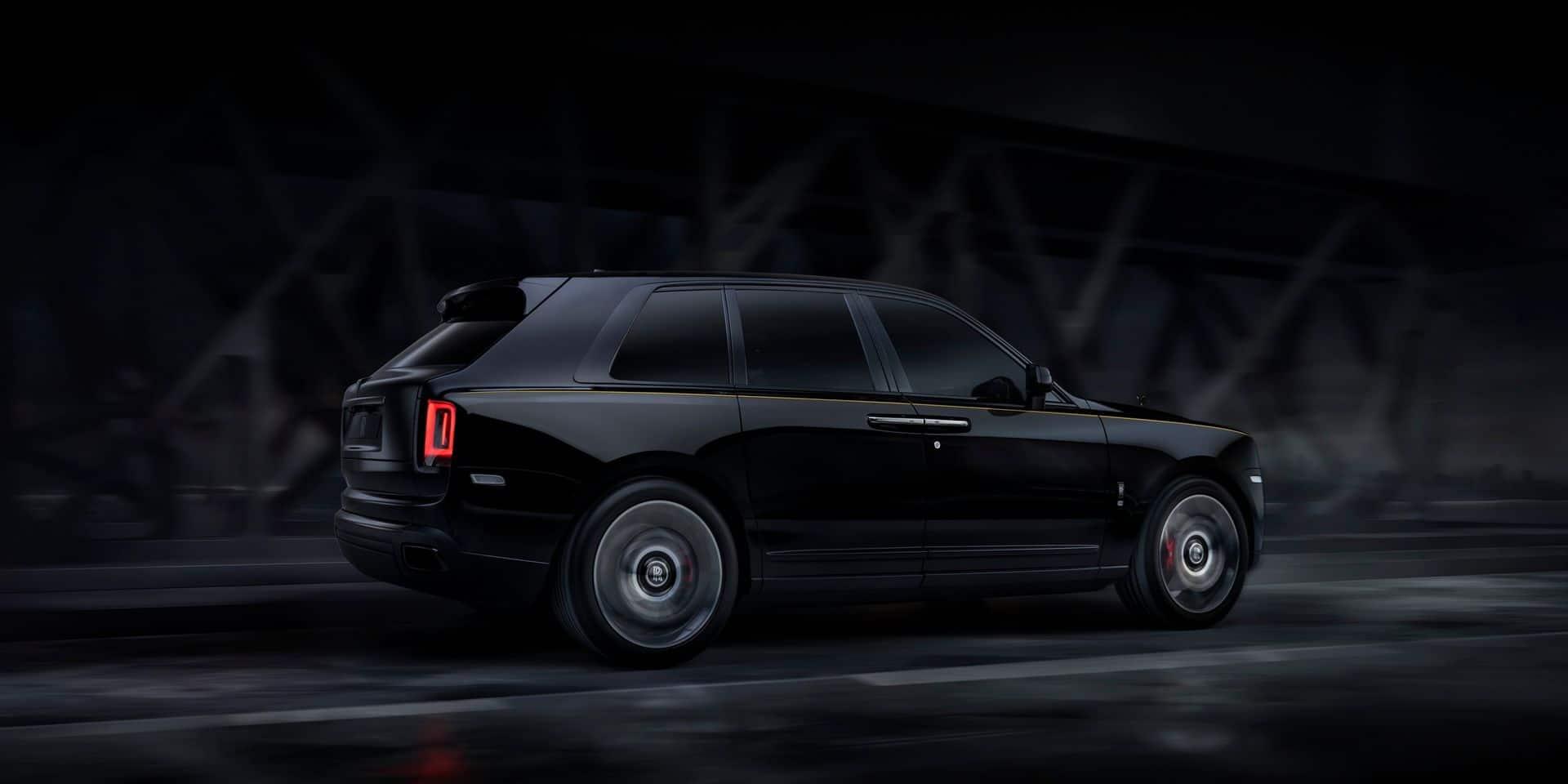 Rolls-Royce Cullinan Black Badge: l'aristocrate tatouée