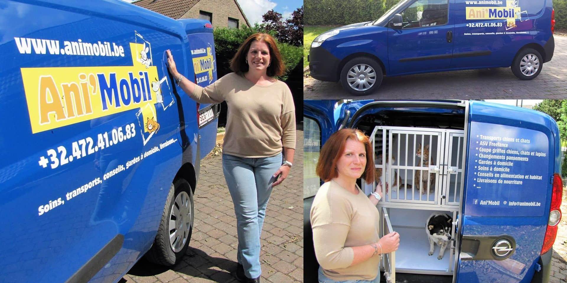 Horrues : Ani'Mobil est au service des animaux