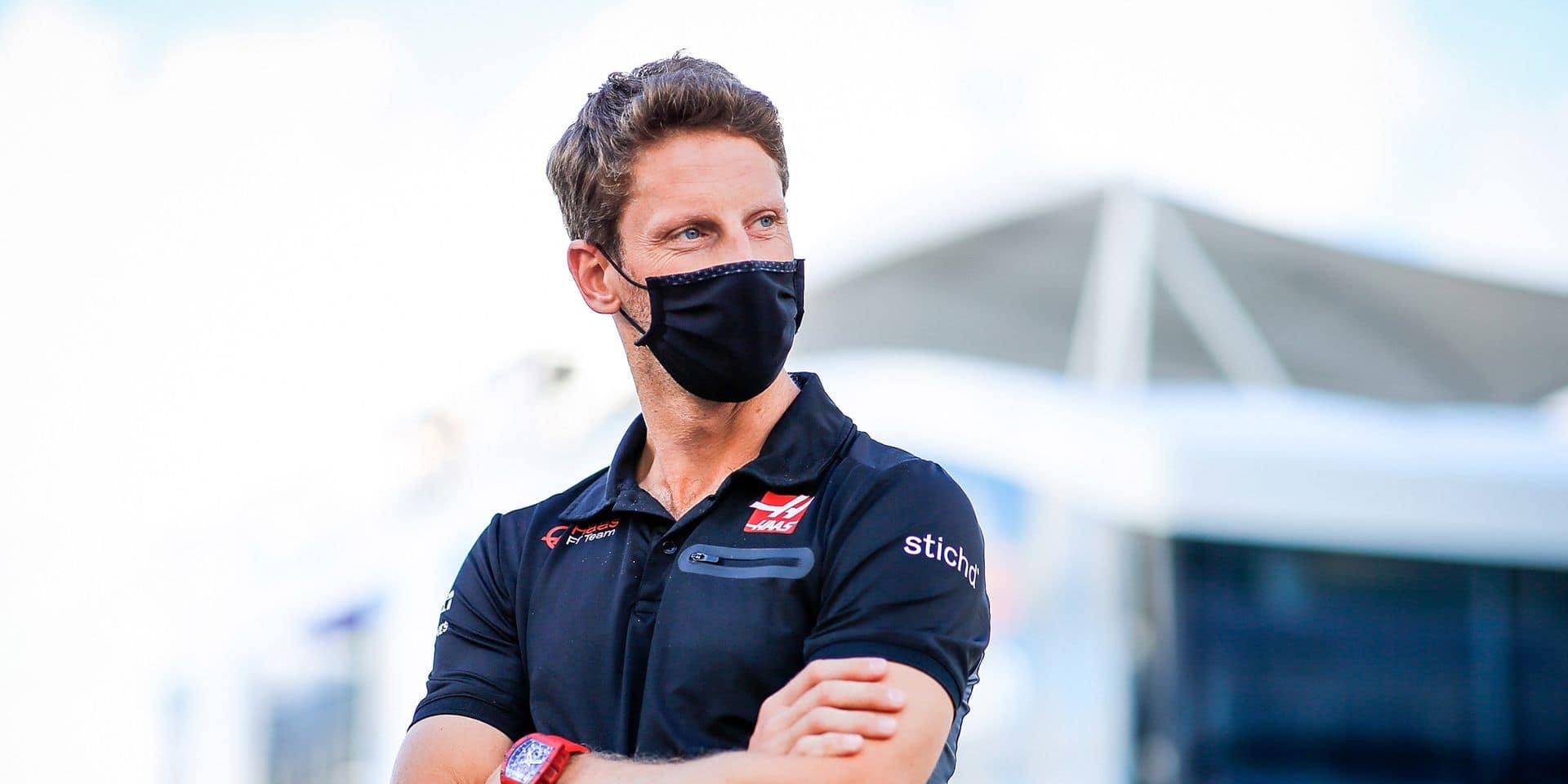 """Romain Grosjean donne des nouvelles rassurantes sur son état de santé: """"Bon sang, ça me rend super heureux !"""""""