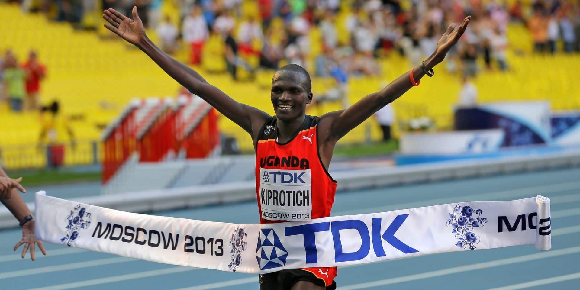 Dopage: le marathonien Wilson Kipsang Kiprotich suspendu provisoirement