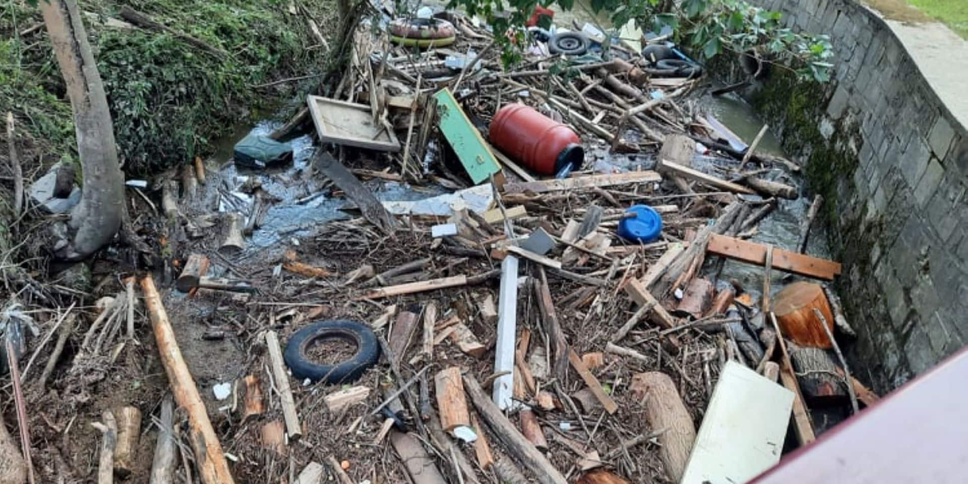 Gestion des déchets des inondations : Idélux renforce son dispositif