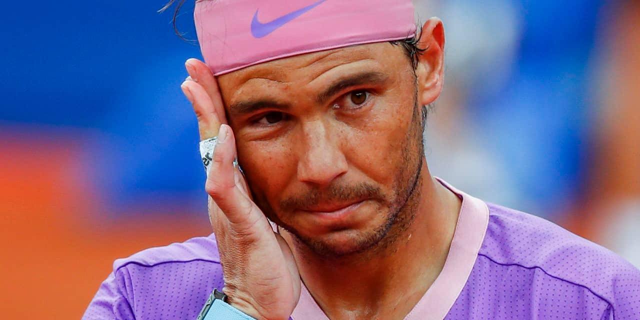 """Nadal pas encore dans le rythme : """"Revenir à la compétition est toujours difficile"""""""