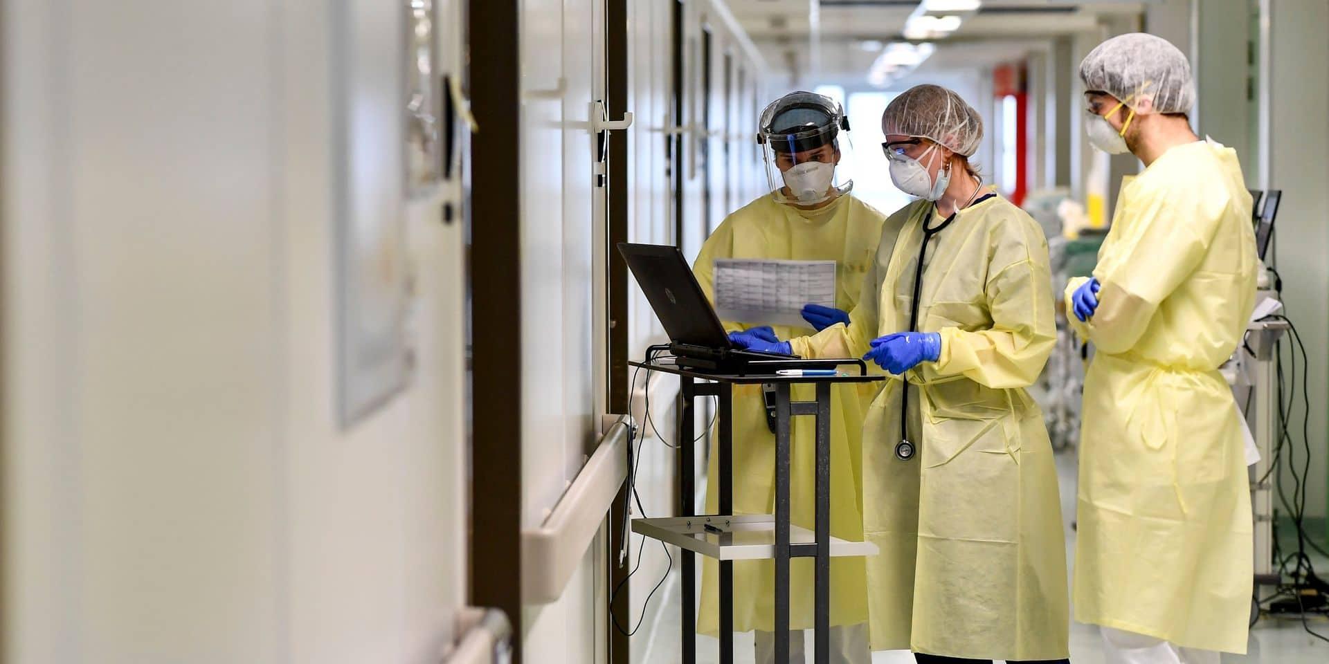 Huit infirmiers sur dix favorables à la vaccination, selon une étude de l'UGIB