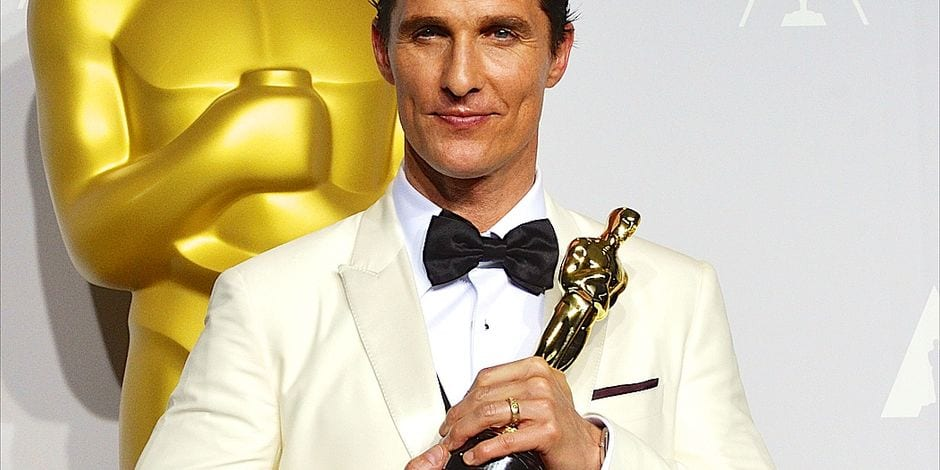 Matthew McConaughey at 86th Academy Awar..........