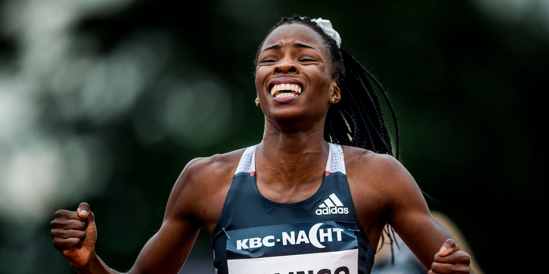 Cynthia Bolingo pulvérise le record de Belgique du 300m en 36.54, 3e chrono mondial de l'année !