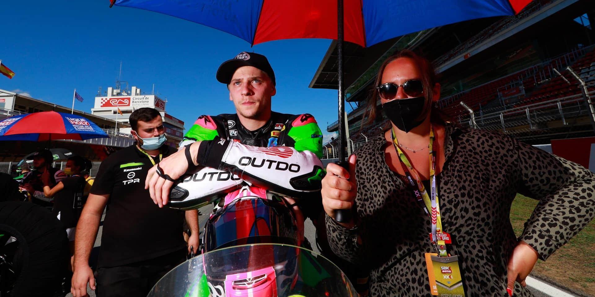 World Superbike: Une 18e place et un abandon pour Loris Cresson à Barcelone