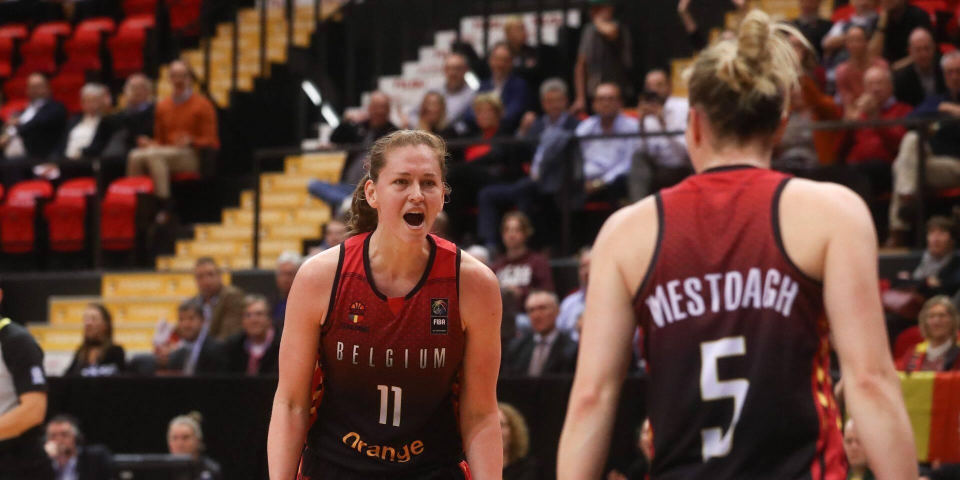 Belgian Cats: Emmenée par Emma Meesseman, la Belgique s'impose en préparation, 64-63 face à la Serbie