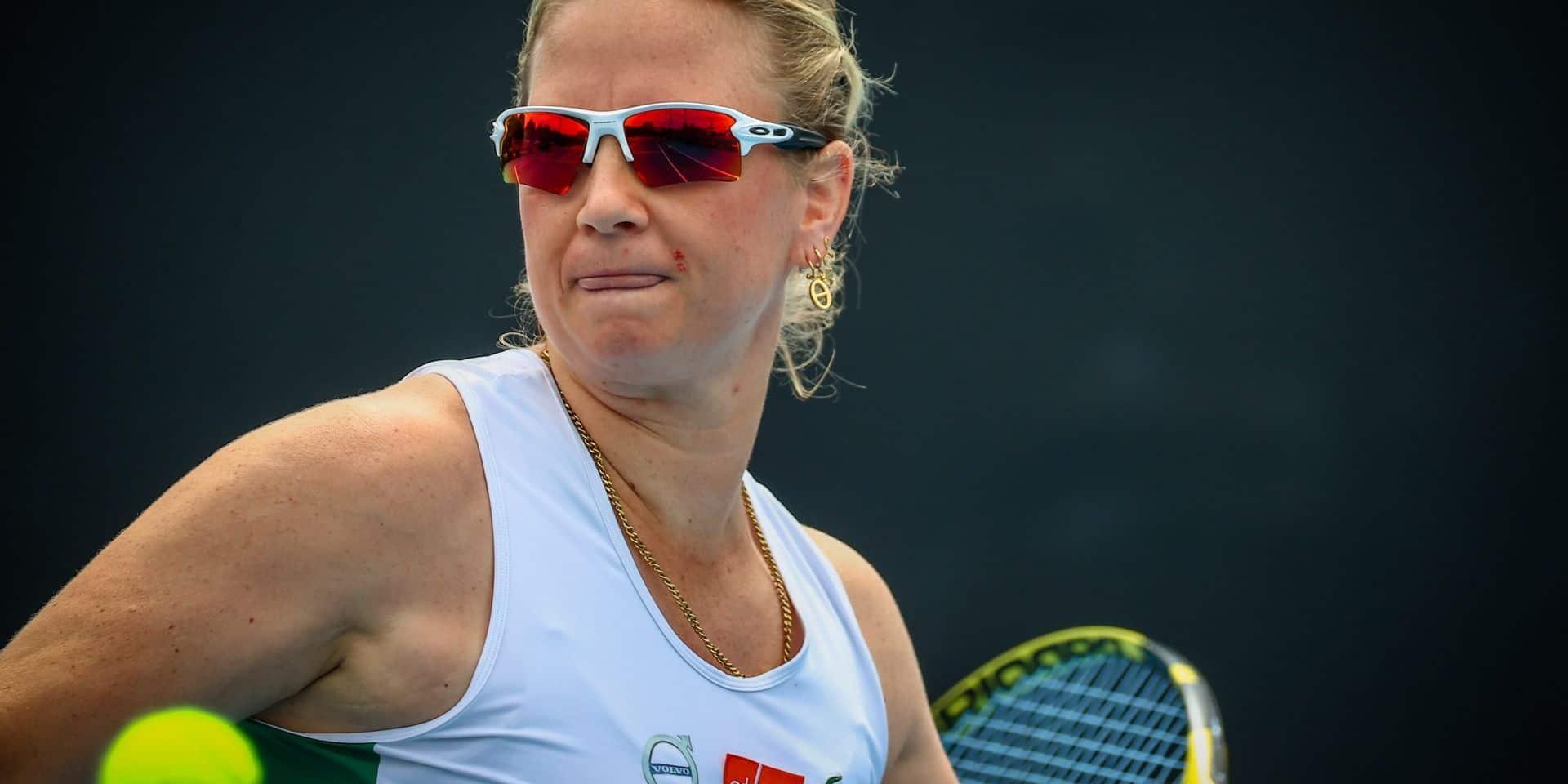 WTA Hambourg: Ysaline Bonaventure avance en quarts