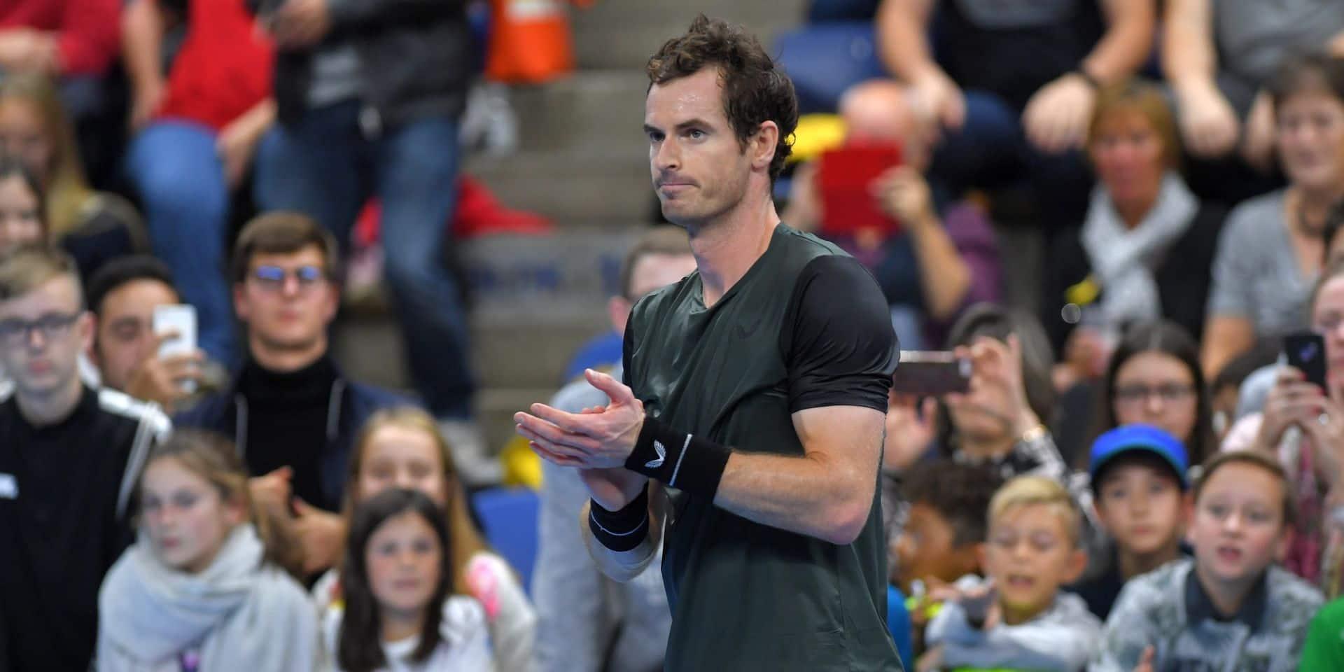 European Open: Andy Murray rejoint le dernier carré, une première depuis son opération