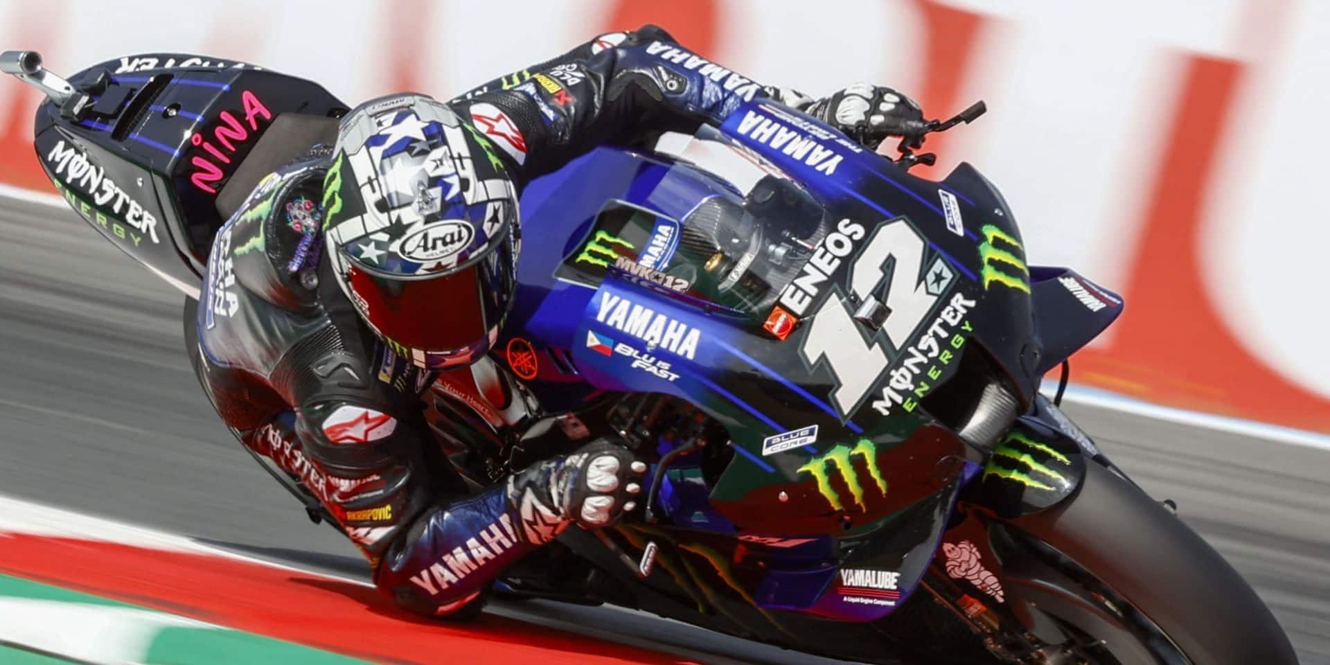 MotoGP: éclaircie inattendue pour Vinales, en pole aux Pays-Bas