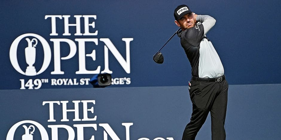Golf British Open : Louis Oosthuizen donne le tempo