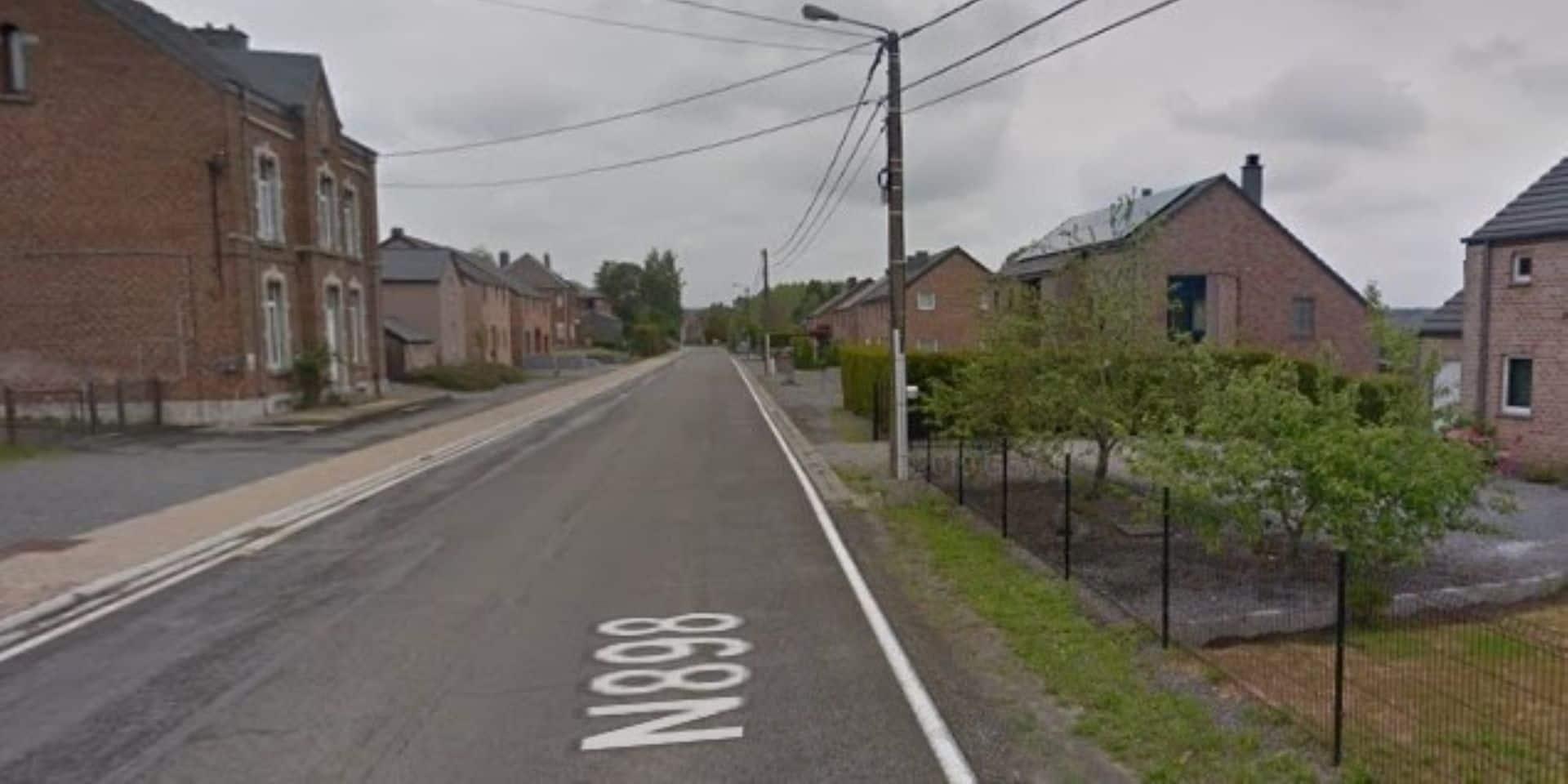 Accident de la route à Fronville (Hotton) : un blessé léger