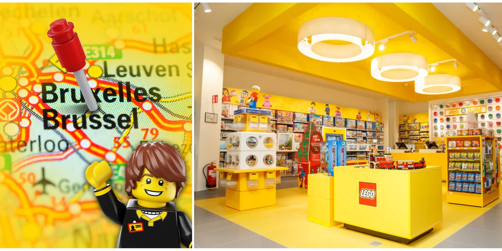 Il y aura bientôt un magasin Lego à Bruxelles !