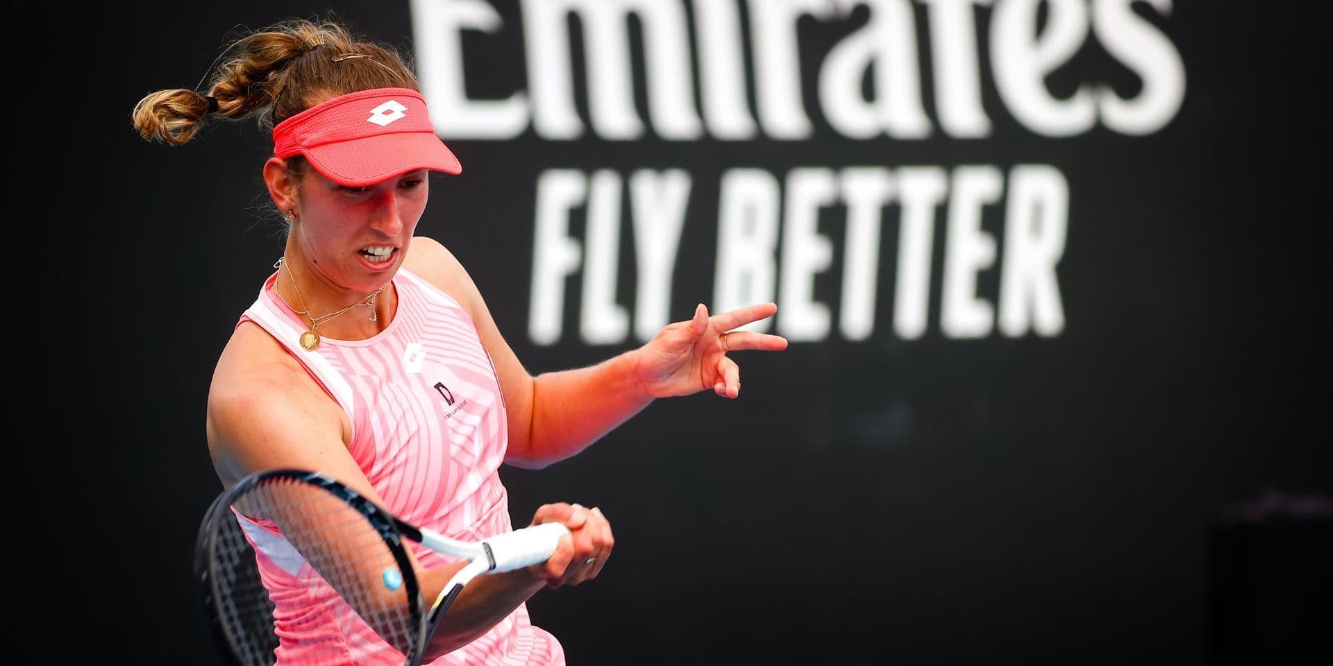 Australian Open: Elise Mertens et Aryna Sabalenka qualifiées en double pour le 3e tour sans jouer