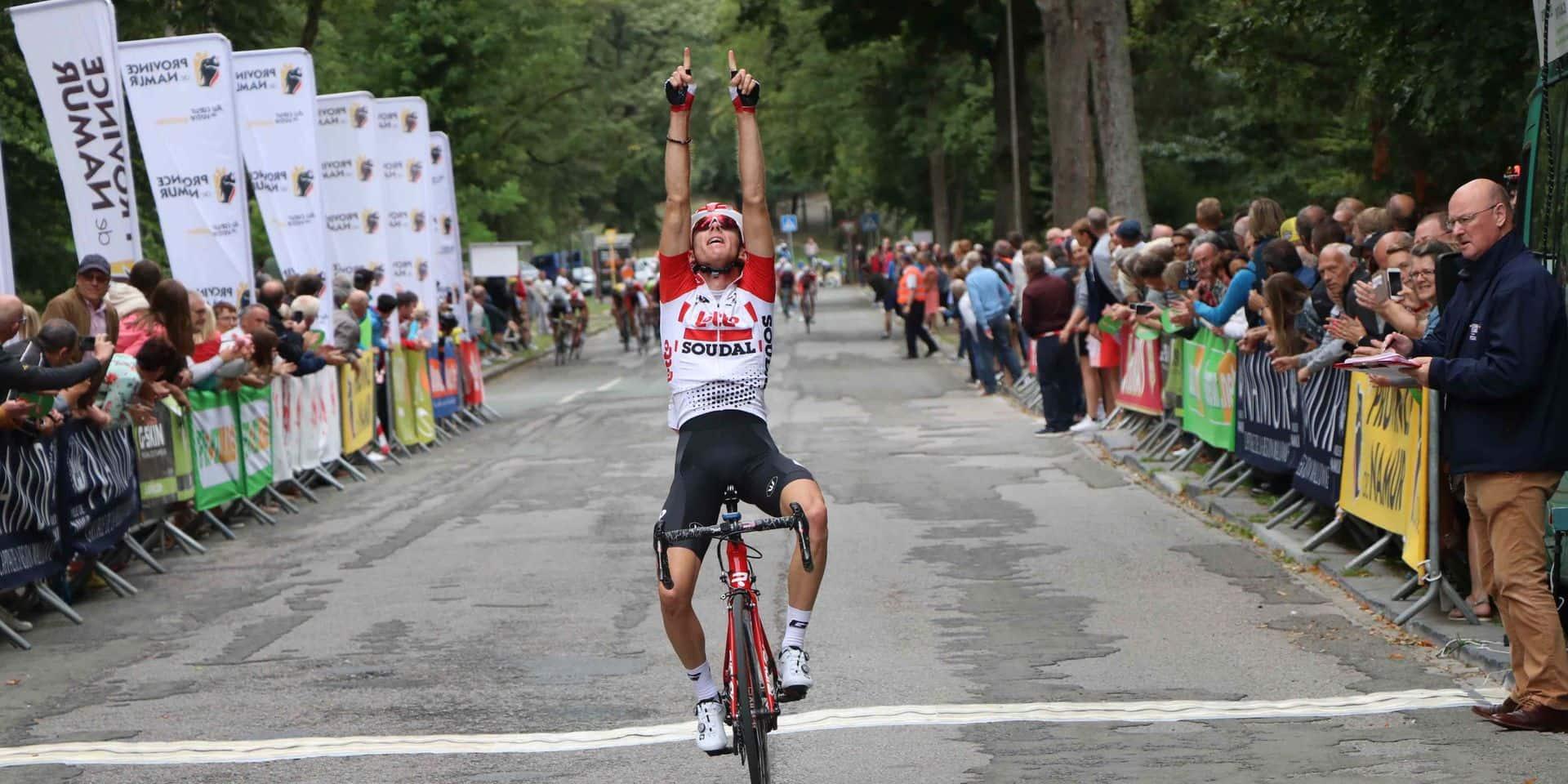 Tour de Namur : Huys à la Citadelle, Elen au classement final